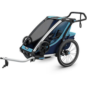 Thule Chariot Cross 1 Bike Trailer thule blue/poseidon thule blue/poseidon
