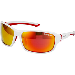 Alpina Lyron Glasses white matt-red white matt-red