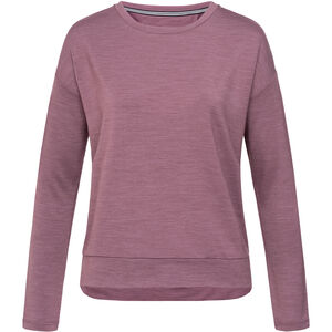 super.natural Jonser Sweater Damen berry conserve melange berry conserve melange