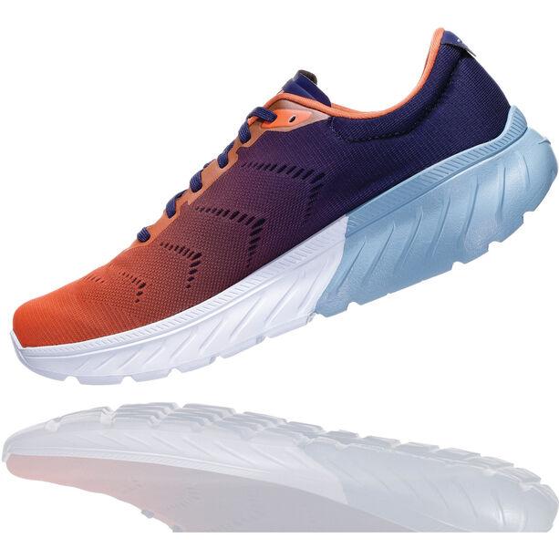 Hoka One One Mach 2 Running Shoes Herren patriot blue/nasturtium