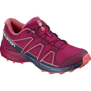 Salomon Speedcross Shoes Kinder cerise./navy blazer/dubarry cerise./navy blazer/dubarry