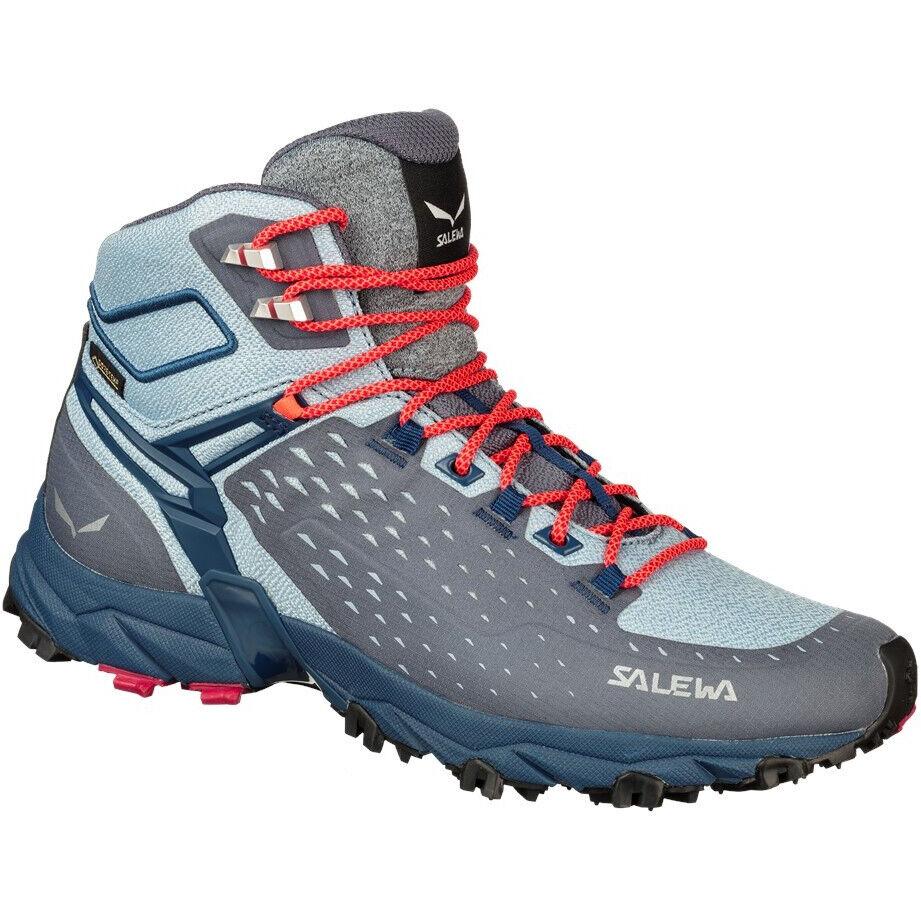 SALEWA Alpenrose Ultra Mid Cut GTX Schuhe Damen grisailleposeidon