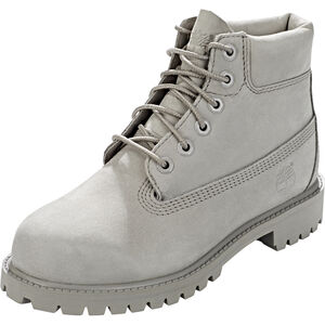 "Timberland Icon Collection Premium Boots 6"" Kinder grey nubuck grey nubuck"