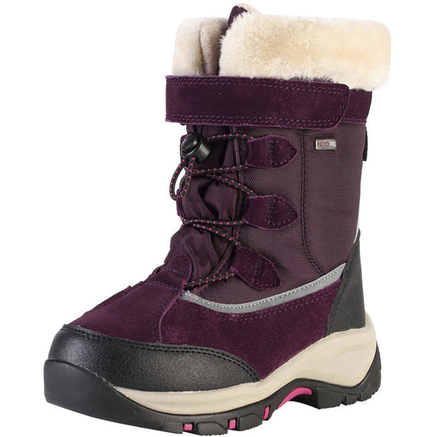 Reima Samoyed Winterstiefel Kinder deep purple