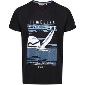 Regatta Calton T-Shirt Herren black black