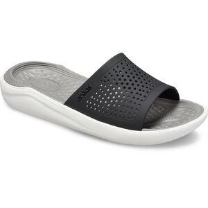 Crocs LiteRide Slides black/smoke black/smoke