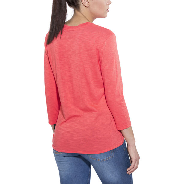 Patagonia Mainstay 3/4 Sleeved Top Damen carve coral