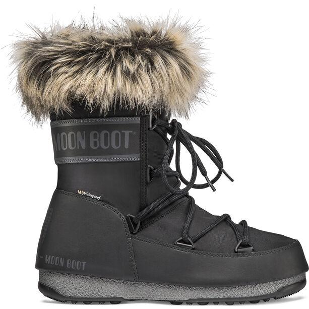 Moon Boot Monaco WP 2 Low-Cut Winterstiefel Damen black