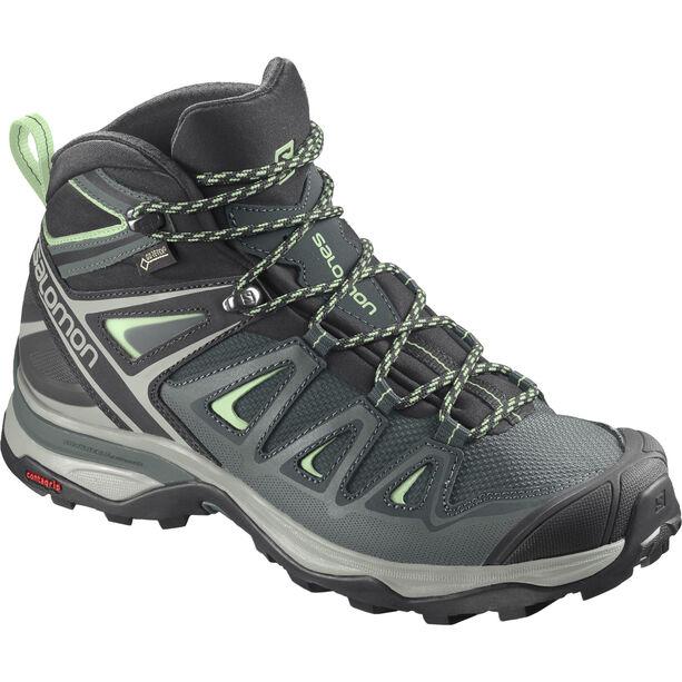 Salomon X Ultra 3 GTX Mid-Cut Schuhe Damen green gables/balsam green/patina green