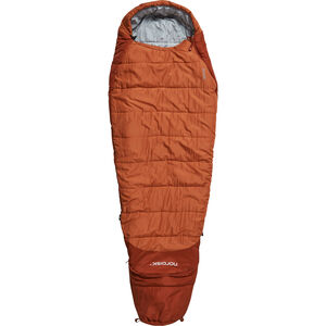 Nordisk Knuth Sleeping Bag 160-190cm Jugend burnt red burnt red