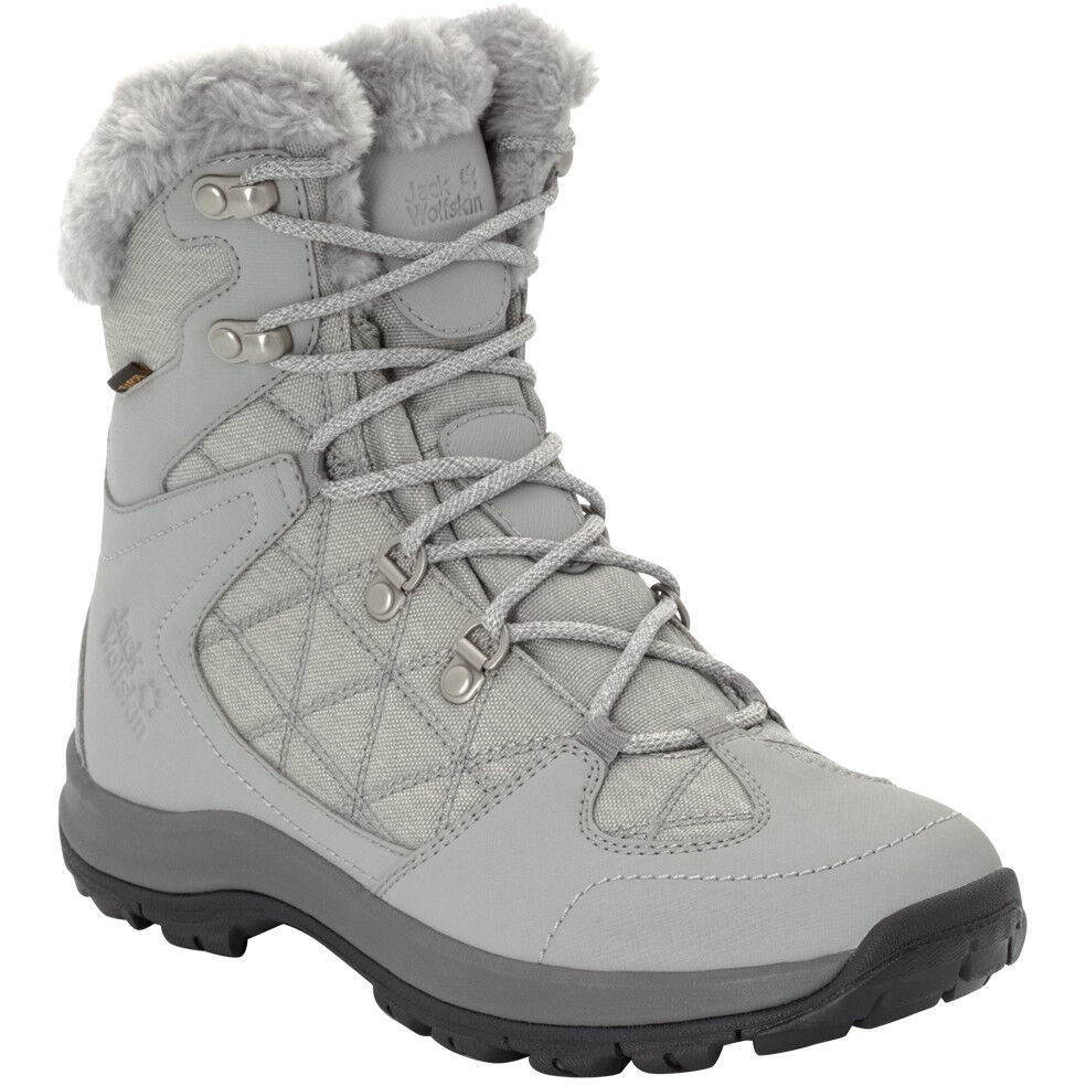 Jack Wolfskin Thunder Bay Texapore Mid Cut Schuhe Damen light greygrey