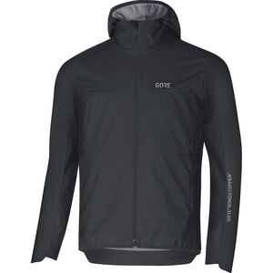 GORE WEAR H5 Windstopper Insulated Hooded Jacket Herren black/terra grey black/terra grey
