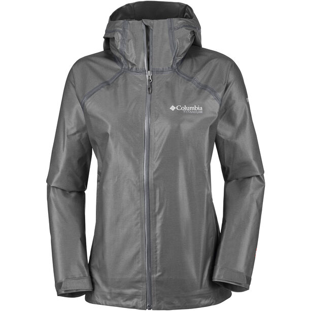 Columbia OutDry Ex Reign Jacke Damen charcoal heather