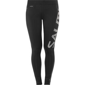 Salming Logo 2.0 Tights Damen black/silver black/silver
