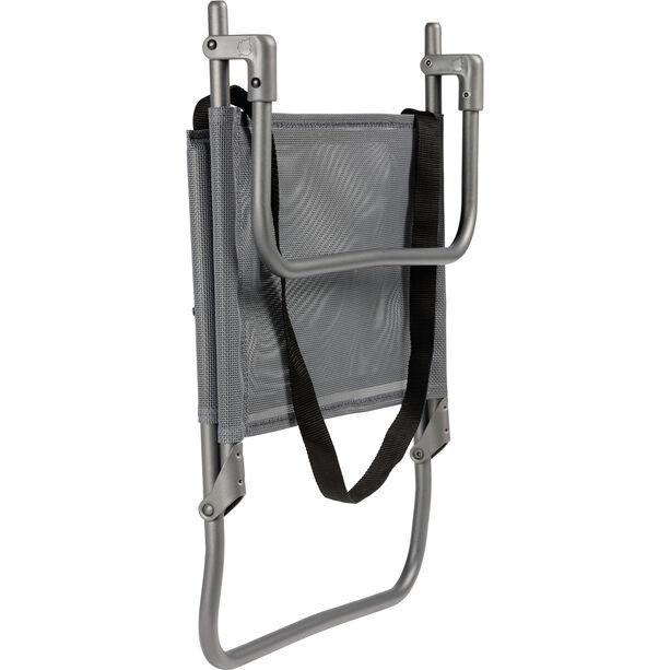 Lafuma Mobilier CB Niedriger Stuhl Texplast titane/silex