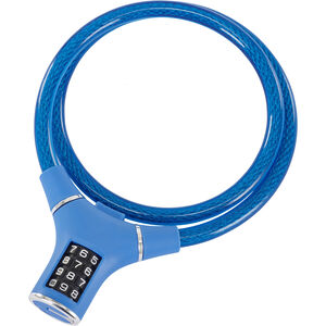 Masterlock 8229 Kabelschloss 12mm x 900mm blau blau