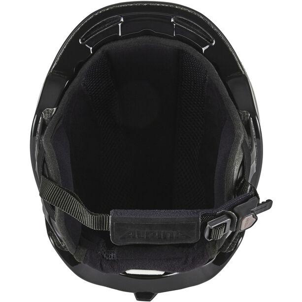 Alpina Spine Ski Helmet black matt