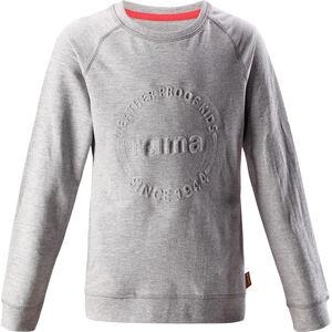 Reima Lingon Pullover Mädchen melange grey melange grey