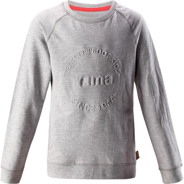 Reima Lingon Pullover Mädchen melange grey