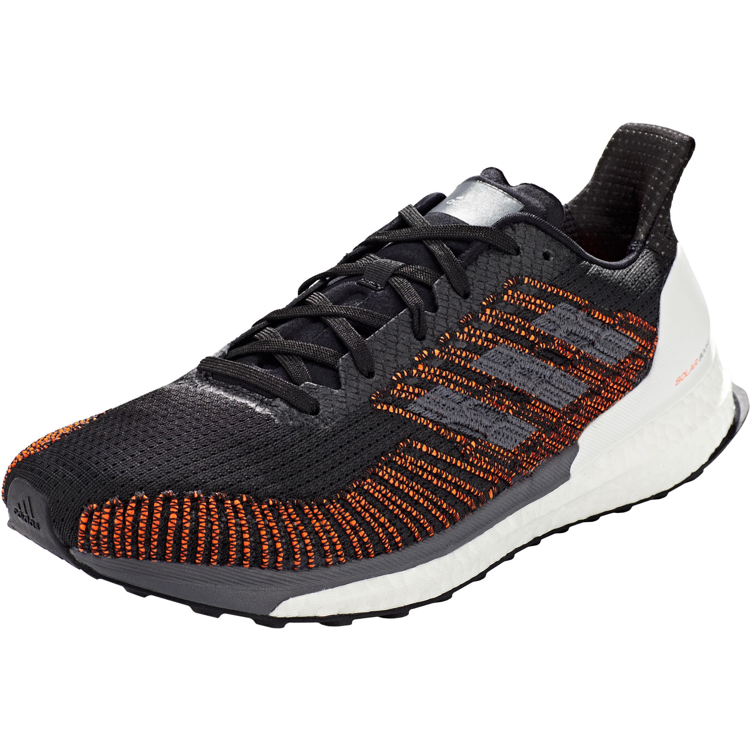 adidas Solar Boost ST 19 Low Cut Schuhe Herren core blackgrey fivesolar orange