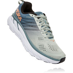 Hoka One One Clifton 6 Schuhe Damen lead/sea foam lead/sea foam