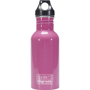 360° degrees Stainless Drink Bottle 550ml pink pink