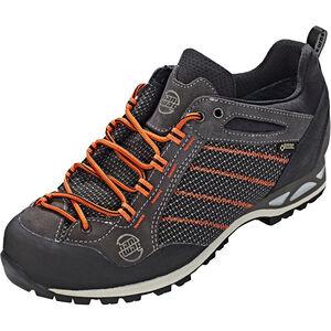 Hanwag Makra GTX Low-Cut Schuhe Herren asphalt/orange asphalt/orange
