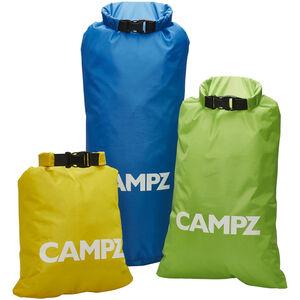 CAMPZ Fun Dry Bags 3er Set bunt bunt