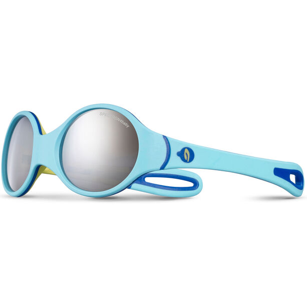 Julbo Loop Spectron 4 Sunglasses 2-4Y Kinder sky blue/yellow/blue-gray flash silver