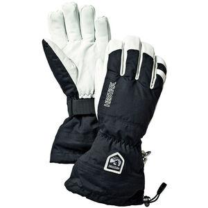 Hestra Army Leather Heli Ski 5 Finger Gloves black black