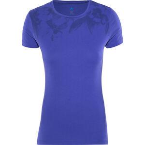 Odlo Signo Shirt SS Crew Neck Damen spectrum blue-placed print ss17 spectrum blue-placed print ss17