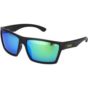 UVEX LGL 29 Glasses black mat/green black mat/green