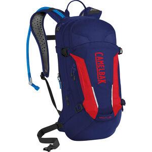 CamelBak M.U.L.E. Hydration Pack 3l pitch blue/racing red pitch blue/racing red