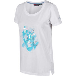 Regatta Filandra III T-Shirt Damen white/silver white/silver
