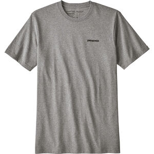 Patagonia P-6 Logo Responsibili-Tee Herren gravel heather gravel heather