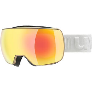 UVEX Compact FM Goggles prosecco mat/fullmirror orange prosecco mat/fullmirror orange