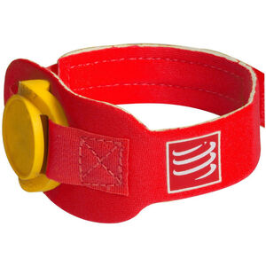Compressport Timing Chipband red red