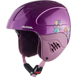 Alpina Carat Ski Helmet Kinder happy flowers happy flowers