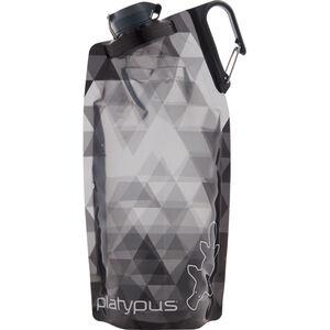 Platypus DuoLock SoftBottle 1000ml gray prisms gray prisms