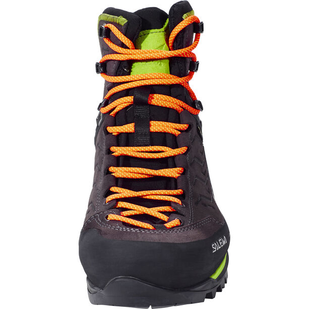 SALEWA MTN Trainer Mid GTX Shoes Herren black/sulphur spring