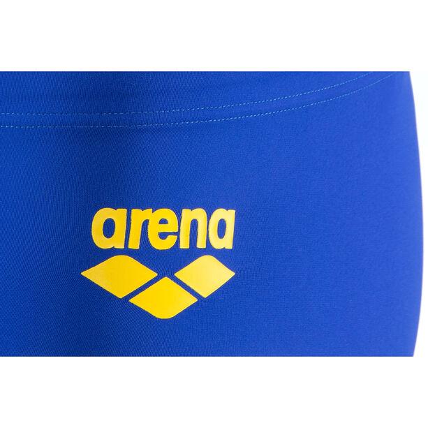arena One Biglogo Low Waist Shorts Herren neon blue-yellow star