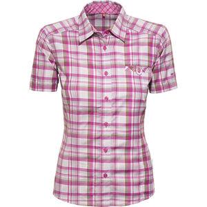 axant Alps Travel Shirt Agion Active Damen violet/grey check violet/grey check