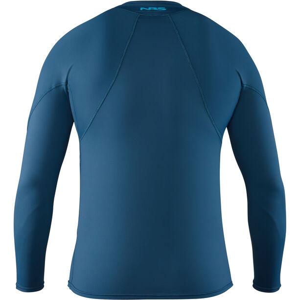 NRS H2Core Rashguard Longsleeve Shirt Herren moroccan blue