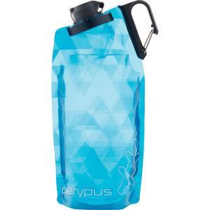 Platypus DuoLock SoftBottle 1000ml blue prisms blue prisms