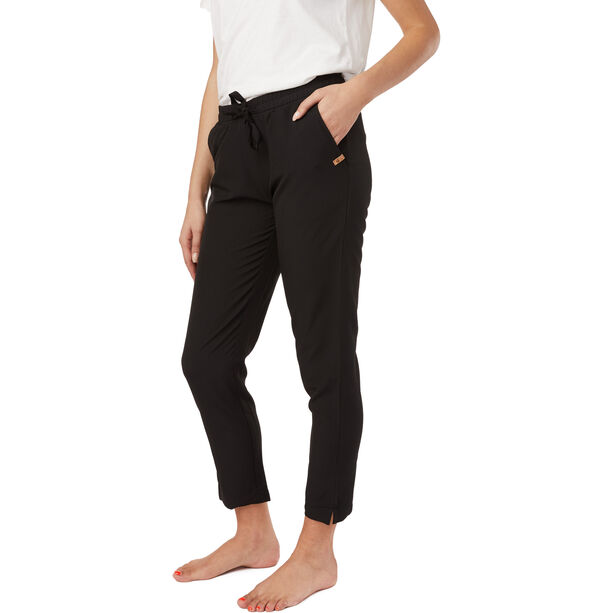 tentree Cascara Hose Damen meteorite black