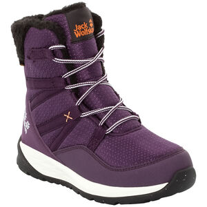 Jack Wolfskin Polar Bear Texapore High Stiefel Kinder purple/off-white purple/off-white
