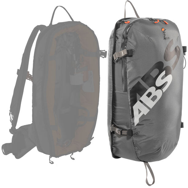 ABS s.LIGHT Compact Zip-On 15L rock grey