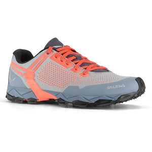 SALEWA Lite Train K Shoes Damen blue fog/fluo coral blue fog/fluo coral