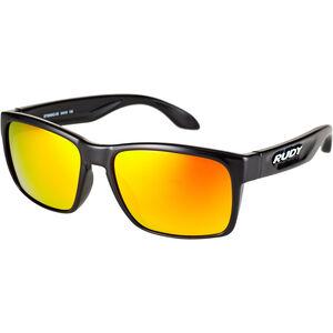 Rudy Project Spinhawk Slim Glasses black gloss - rp optics multilaser orange black gloss - rp optics multilaser orange