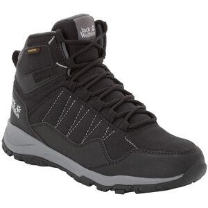 Jack Wolfskin Maze Texapore Mid-Cut Schuhe Damen black/grey black/grey